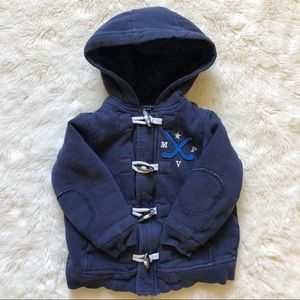 Joe Fresh Blue Hooded Coat Size 3T